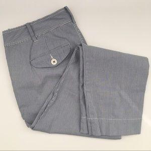 Paper Boy Women's Seesucker Crop Pants Size 10